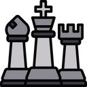 King with bishop and rook Icon