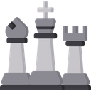 King With Bishop And Rook Combination King Icon