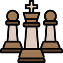King With Pawn Pawn Backup Icon