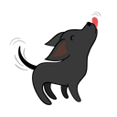 Love Happy Dog Icon