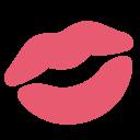 Kiss Lips Mark Icon
