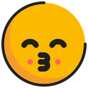 Emoticon Emoji Kissing Icon