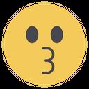 Kissing Emojis Emoji Icon