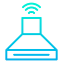 Smart Kitchen Automation Internet Of Things Icon
