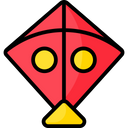 Artboard Kite Fly Icon