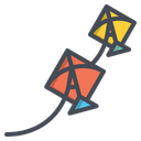 Kite Flying Sky Icon