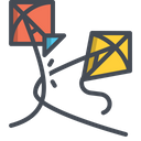 Kite Cut Win Icon