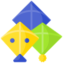 Artboard Kites Design Icon