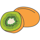 Fruit Food Kiwi Icon