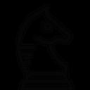 Knight Horse Strategy Icon