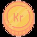Swedish Kronor Sek Icon