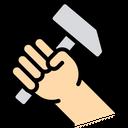 Rock Hammer Hammer Handtool Icon