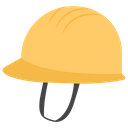 Hard Hat Engineering Helmet Labour Hat Icon