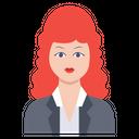 Lady Girl Female Icon