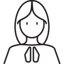 Culture Pray Temple Icon