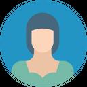 Lady Servant Female Girl Icon