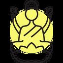 Laxmi Hindu Diwali Icon