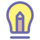 Lamp Inspiration Electricity Icon