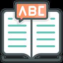 Language Books Education Icon