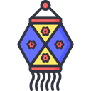 A Lantern Lamp Icon