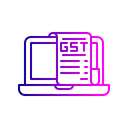 Laptop Electronic Device Icon