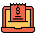 Laptop Invoice Icon