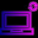 Laptop Wireless Device Icon