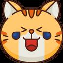 Lol Emoticon Cat Icon