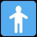 Lavatory Man Restroom Icon
