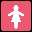 Lavatory Woman Restroom Icon