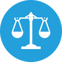 Law Balance Scale Icon