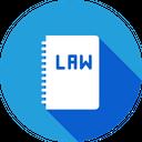 Law Book Judicial Icon