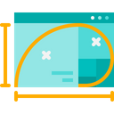 Graphic Design Creative Layout Ratio Icon