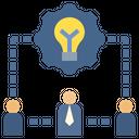 Team Leadership Operation Icon