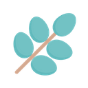 Branch Leaf Nature Icon
