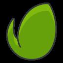 Leaf Social Media Icon