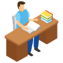 Learning Student Icon