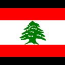 Lebanon Flag Country Icon