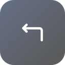Left turn Icon