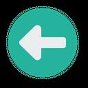 Left Turn Indication Icon