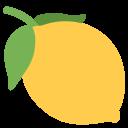 Lemon Fruit Emoj Icon