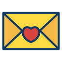 Love Letter Letter Envelope Icon