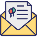 Letter Invitation Invite Icon