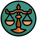 Libra Zodiac Weighing Scale Icon