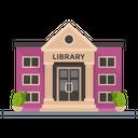 Library Bibliotheca Bookroom Icon