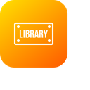Library Room Board Icon