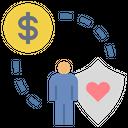 Care Insurance Money Icon