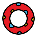 Lifebuoy Safety Life Icon