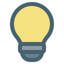 Light Inspiration Solution Icon