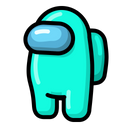 Light Blue Free Character Icon